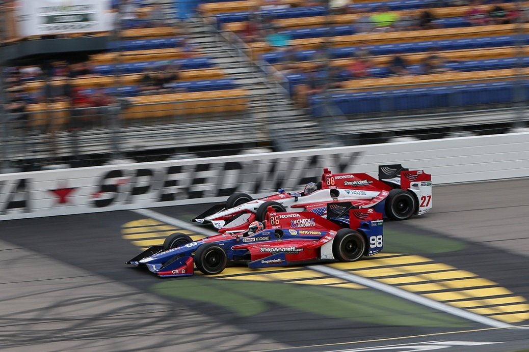 Rossi Andretti (FOTO: Joe Skibinski/INDYCAR)