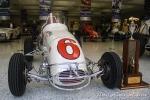 1961: A bordo de este midget, también de Kurtis Kraft y motor Offy, Foyt hizo grandes exhibiciones entre 1959 y 1966. Una de las que más se recuerda es la Hut Hundred, en Terre Haute, Indiana, en el que inició último (26°) pero terminó ganando por más de una vuelta de diferencia. (FOTO: Eduardo Olmos)
