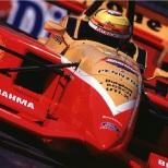 El estadounidense consolidó su reputación como referente de CART de 1996 a '98, al acumular nueve podiums adicionales: su segunda y última victoria llegó en Surfers Paradise, Australia, en 1997. Asimismo, concluyó sexto en la puntuación de 1998 (FOTO: Getty)