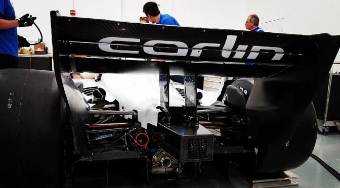 El primer test de Carlin con un IndyCar