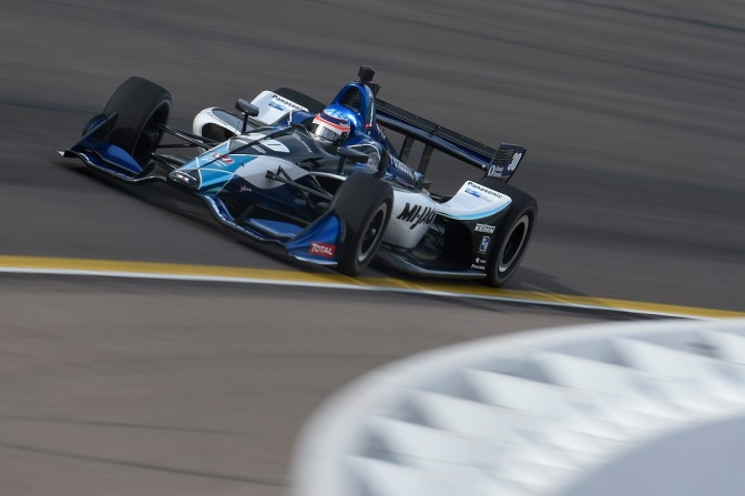 Sato (FOTO: Chris Owens/IMS Photo)