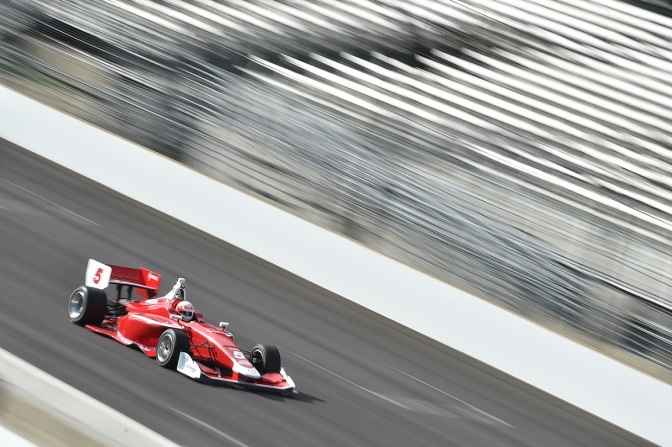 Inician los tests del Road to Indy