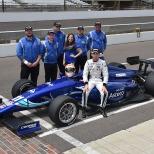 El nuevo integrante de Chip Ganassi Racing, Ed Jones, participó en dos seriales distintos con Carlin. En 2014, fue 13° en la F3 Europea, a lo que le siguieron dos años en Indy Lights, donde se proclamó campeón en 2016 (FOTO: Chris Owens/IMS Photo)