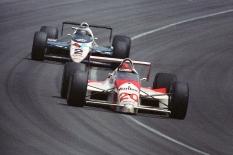 """""""Emmo"""" manejó para """"Pat"""" Patrick de 1986 a 1989, encontrando gran parte de su éxito con el equipo del empresario de Michigan. Su cuarto año fue el más sobresaliente, al sumar cinco victorias, incluyendo la Indy 500, y el campeonato de CART (FOTO: IMS Photo)"""