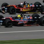De 1996 a 2002, Fittipaldi formó parte de Newman-Haas Racing, como coequipero de Michael Andretti y Cristiano Da Matta. Logró dos triunfos y 20 podiums, finalizando quinto en el ranking de 1996 y 2002 (FOTO: Archivo)