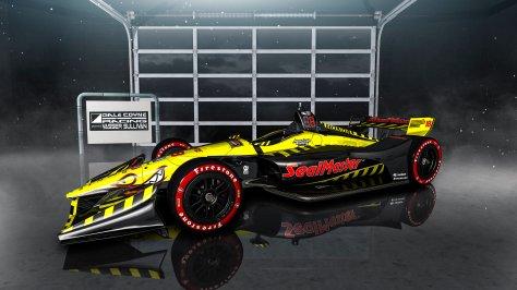 El auto de Bourdais para media temporada (FOTO: Dale Coyne Racing w/Vasser-Sullivan Racing)