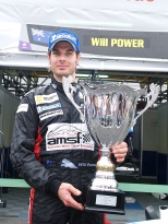 """Will Power (Team Penske) participó con Carlin en la primera temporada de la era """"World Series by Renault"""", en 2005 En ese año, concluyó 7° en el ranking, sumando triunfos en Le Mans Bugatti y Bilbao (FOTO: Archivo)"""