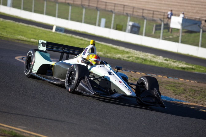Fittipaldi (FOTO: Sonoma Raceway/IMS Photo)