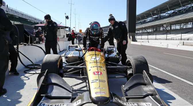 Hinchcliffe (FOTO: Chris Jones/IMS, LLC Photo)