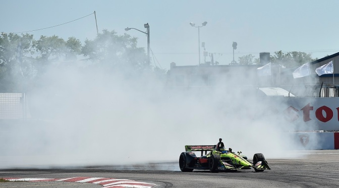 Bourdais (FOTO: Chris owens/IMS, LLC Photography)