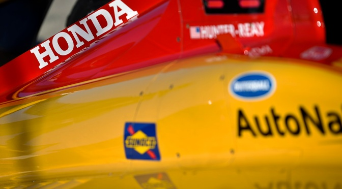 Hunter-Reay (FOTO: Chris Owens, Indianapolis Motor Speedway, LLC Photography)