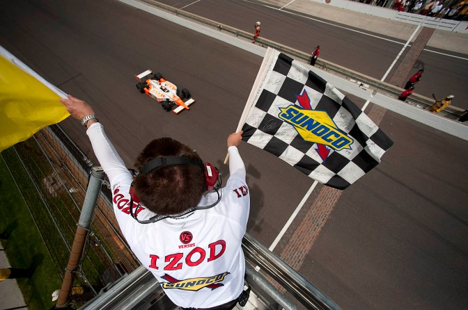 Wheldon (FOTO: IMS Photo)