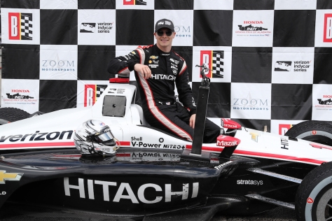 Newgarden (FOTO: Chris Jones/IMS, LLC Photo)