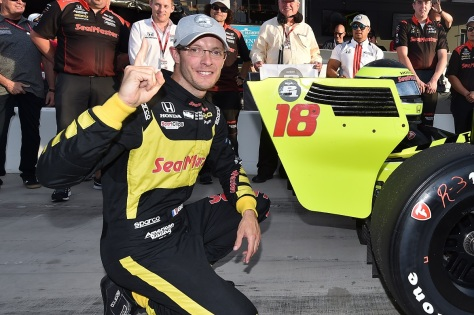 Bourdais (FOTO: Chris Owens/IMS, LLC Photo)