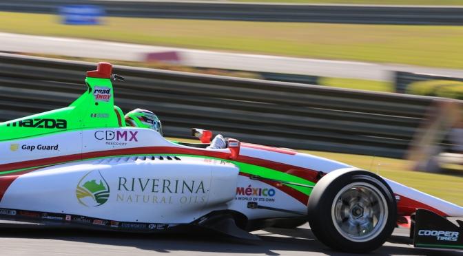 """""""Pato"""", el dominador de la Indy Lights"""