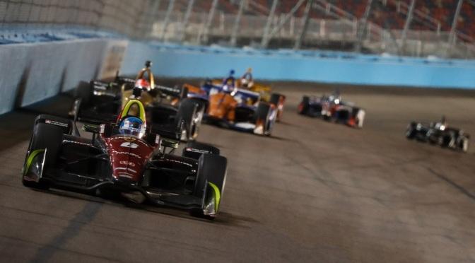 Wickens y su meteórico inicio en la IndyCar