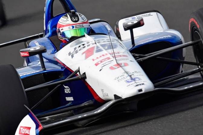 Rahal (FOTO: Walter Kuhn/IMS, LLC Photo)
