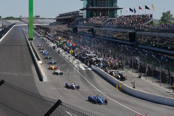 HORARIOS DE TV: Edición 102 de la Indy 500