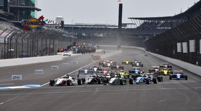 Pro Mazda y USF2000 en Indianapolis