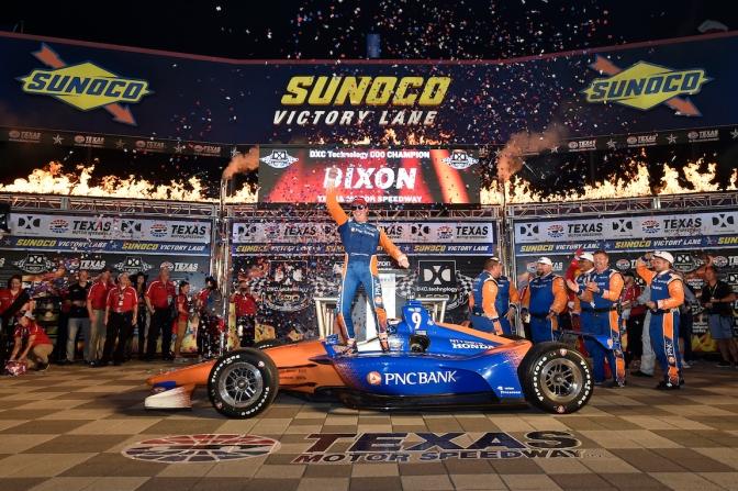 Tercer triunfo de Dixon en Texas
