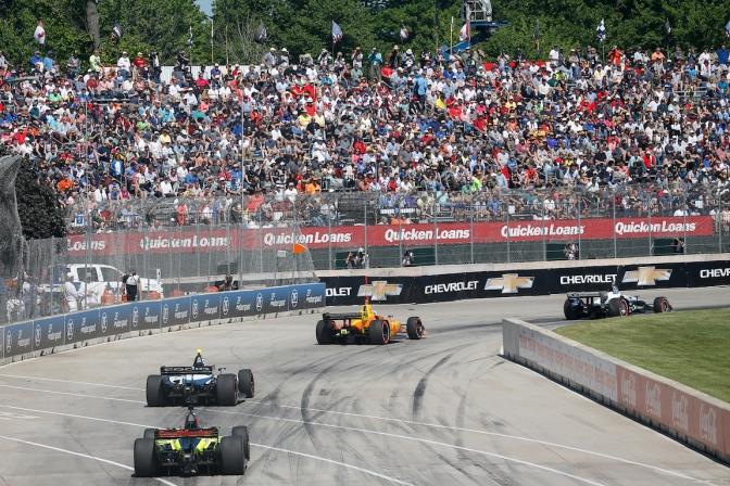 Detroit (FOTO: Joe Skibisnki/IMS, LLC Photo)