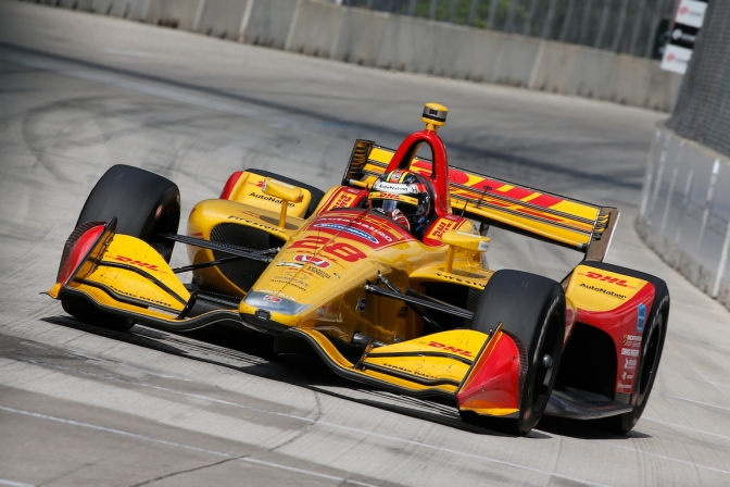 Hunter-Reay (FOTO: Joe Skibinski/IMS, LLC Photo)