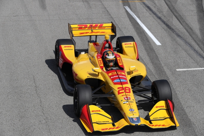Hunter-Reay (FOTO: Chris Jones/IMS, LLC Photo)