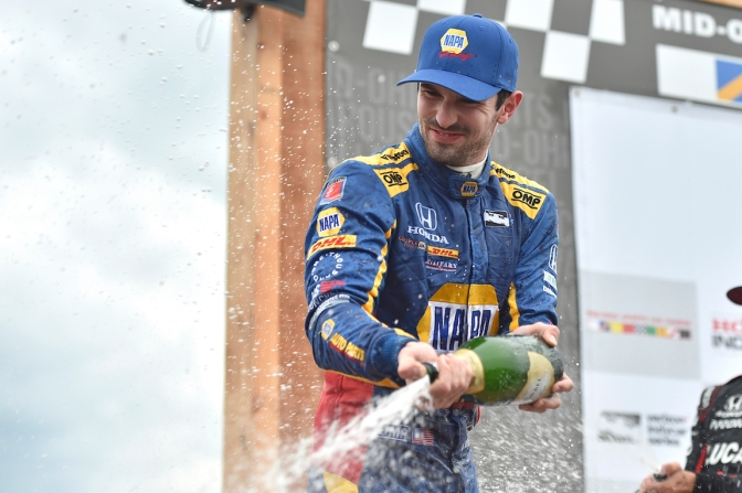 Domina Rossi en Mid-Ohio