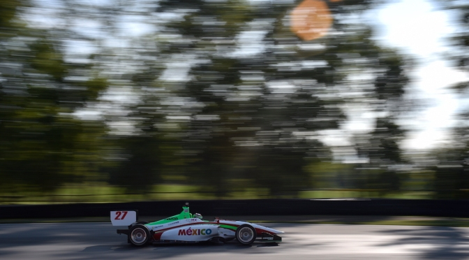 "Séptima pole de ""Pato"" en Indy Lights"