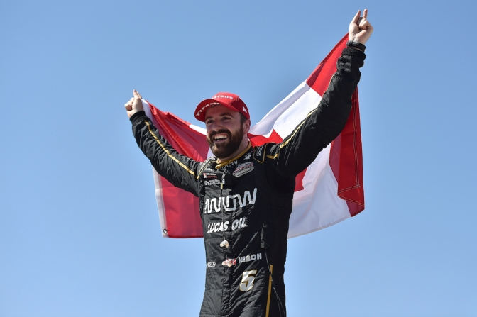 Hinchcliffe (FOTO: Chris Owens/IMS, LLC Photo)