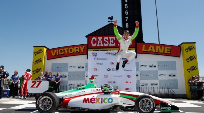 Lights: O'Ward domina a placer en Iowa