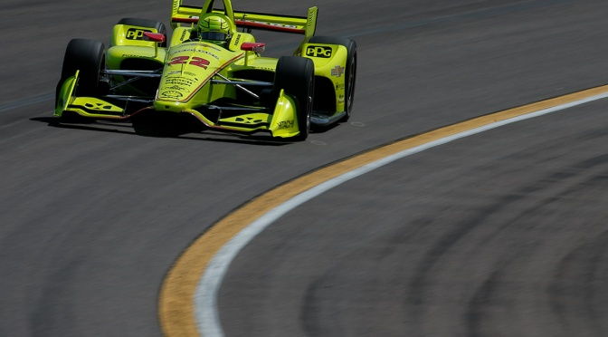 Pagenaud (FOTO: Joe Skibinski/IMS, LLC Photo)