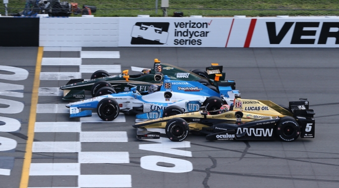 Pocono (FOTO: Chris Jones/IMS, LLC Photo)