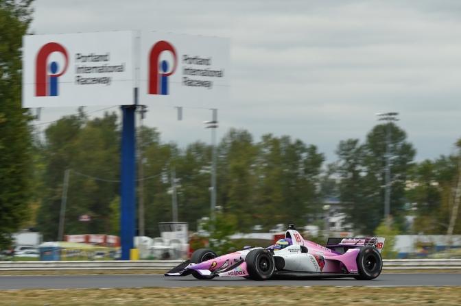 Bourdais lidera primera práctica en Portland