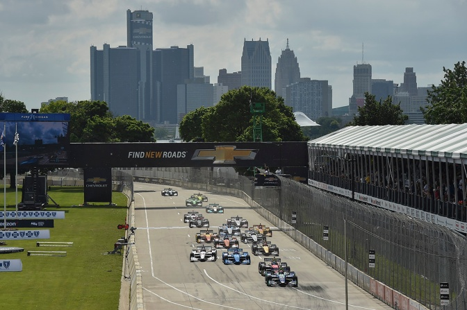 Detroit (FOTO: Chris Owens/IMS, LLC Photo)