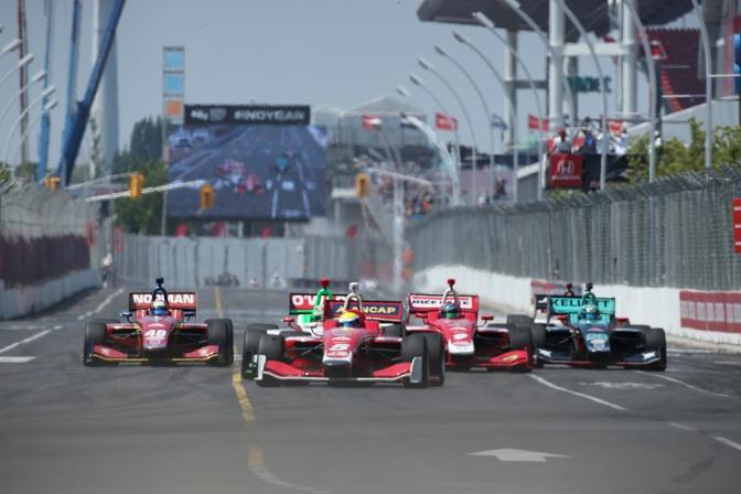 Solo siete autos participan de tiempo completo en la Indy Lights en 2018 (FOTO: Matt Fraver/IMS, LLC Photo)