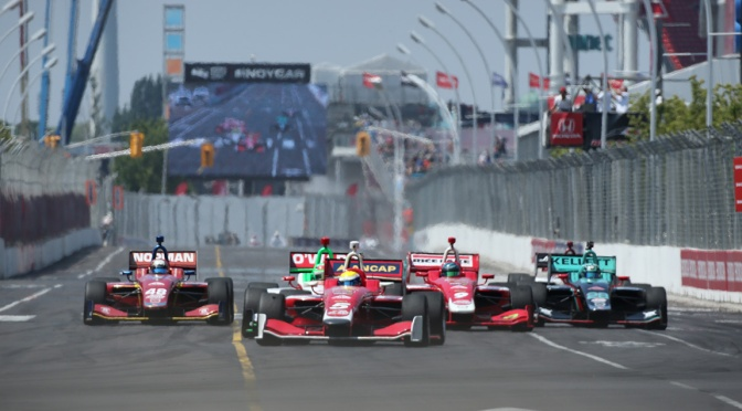 Solo siete autos participan de tiempo completo en la Indy Lights en 2018 (FOTO: Matt Fraver/IMS, LLC Photo)