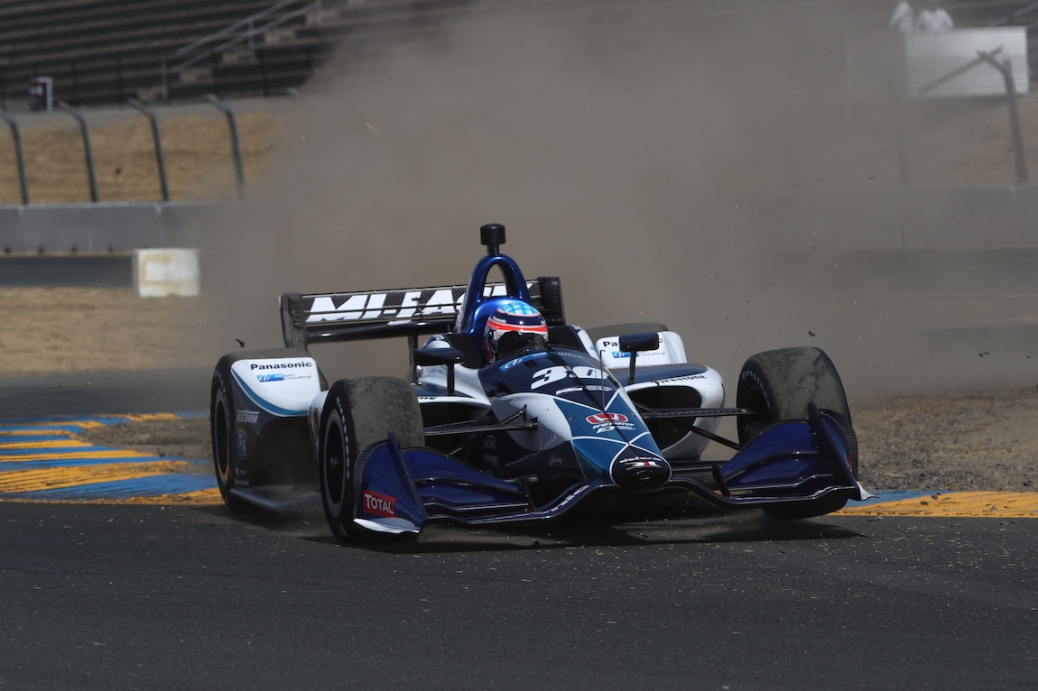 Sato (FOTO: Chris Jones/IMS, LLC Photo)