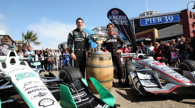 Power y Pagenaud en 2016 (FOTO: Richard Dowdy/IMS, LLC Photo)