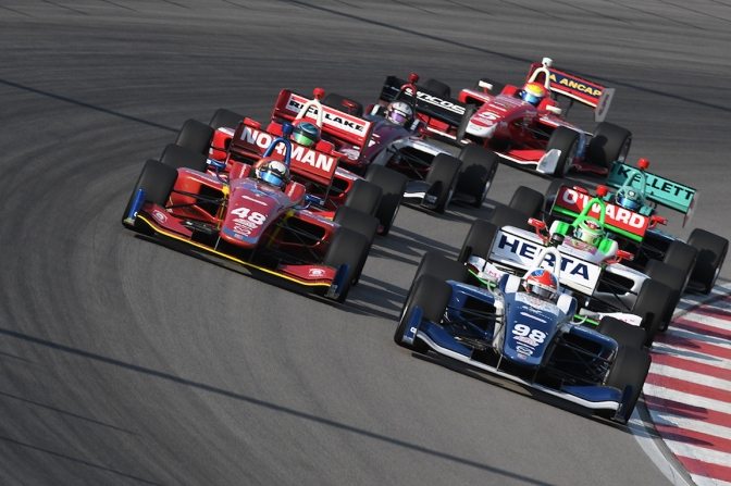 Calendarios de las series del Road to Indy