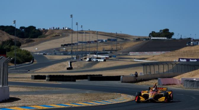 Hunter-Reay lideró primera práctica sobre Dixon