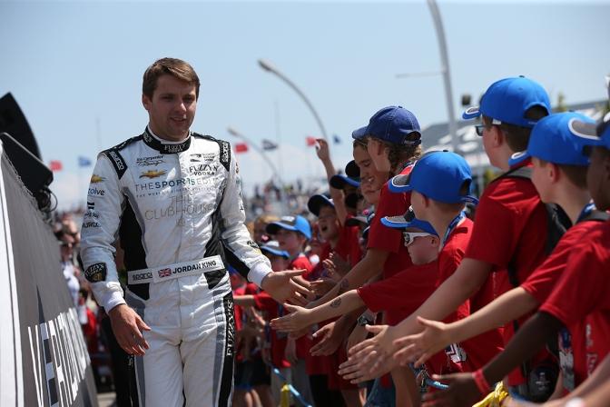 King firma con Rahal para Indy 500
