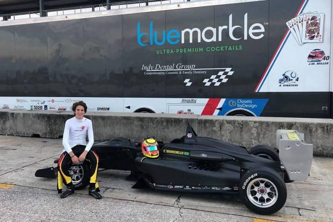 El hijo de Rubens Barrichello se integra a la USF2000