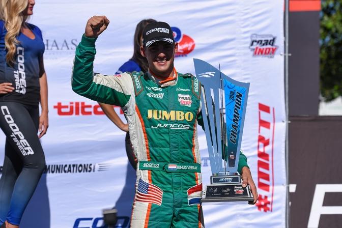 Juncos confirma a VeeKay para Indy Lights