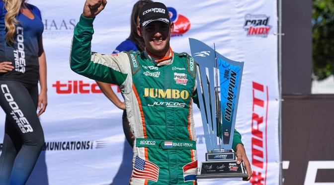 Juncos confirma a VeeKay para Indy Lights