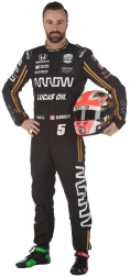 James Hinchcliffe Official Portrait 2019 (FOTO: Chris Owens/IMS, LLC Photo)