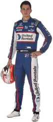 Graham Rahal Official Portrait 2019 (FOTO: Chris Owens/IMS, LLC Photo)