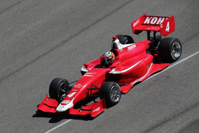 Se va conformando la parrilla de Indy Lights