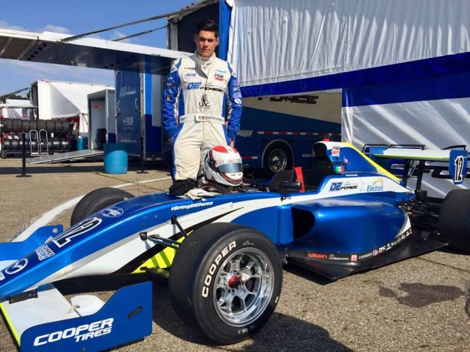 Dos mexicanos con DEForce Racing en el Road to Indy