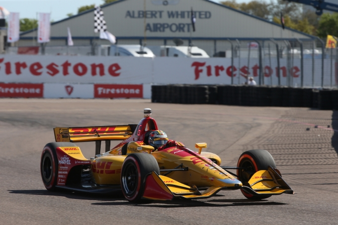 Hunter-Reay va de favorito por la pole